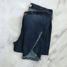 Loft frayed hem modern skinny jeans - My Girlfriend's Wardrobe York Pa
