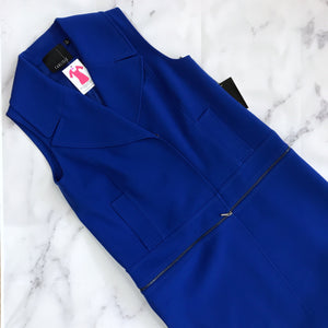 Carlisle royal blue vest tunic NWT - My Girlfriend's Wardrobe York Pa