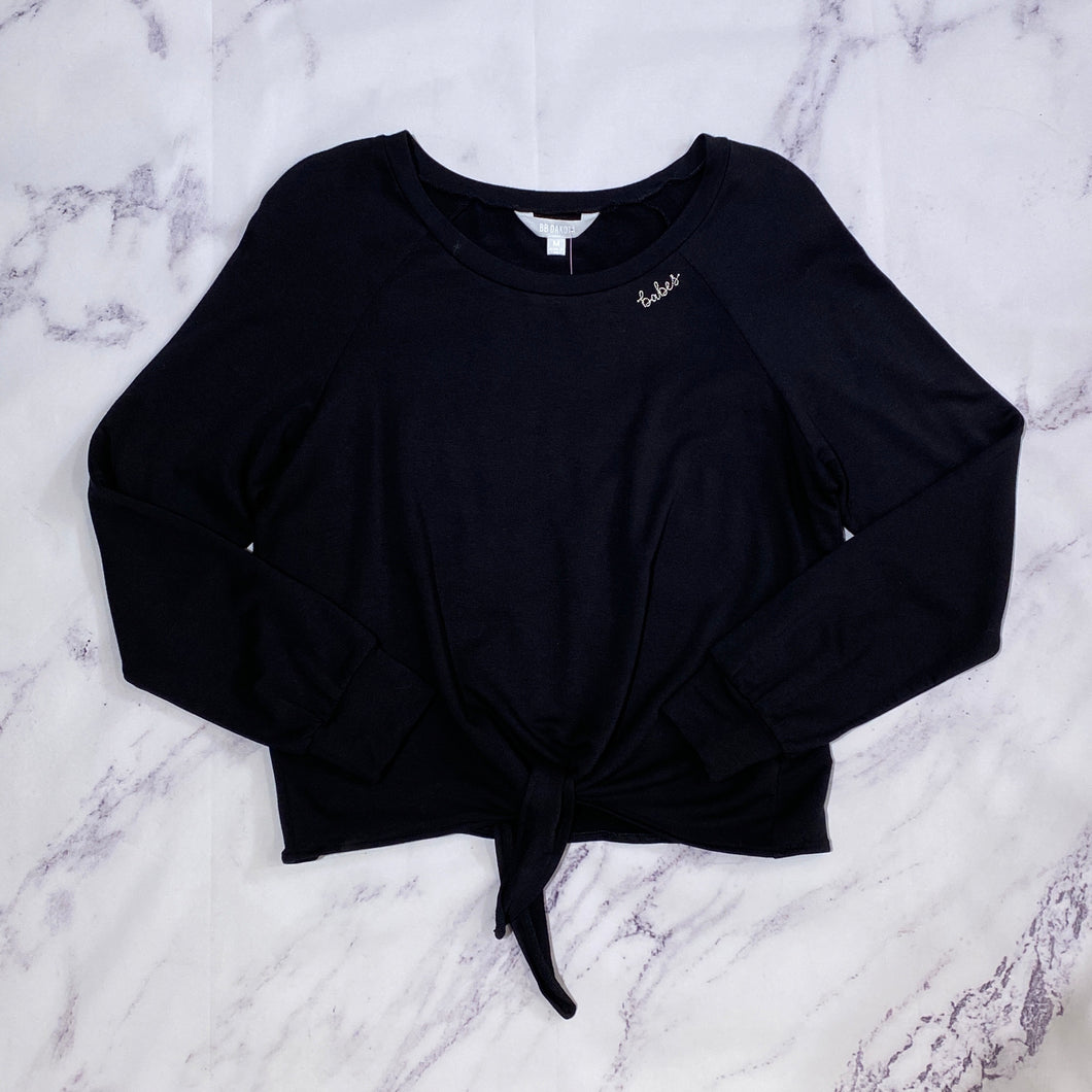 BB Dakota black babes top size M