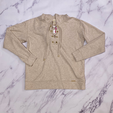 Michael Kors tan pullover size S
