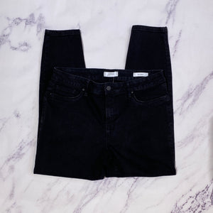 Jessica Simpson black ankle skinny jeans size 14