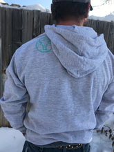 Heather grey hoodie