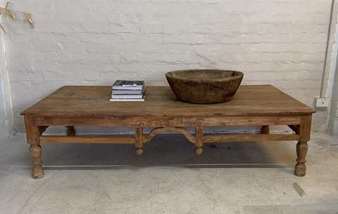 Rustic Indian Coffee Table