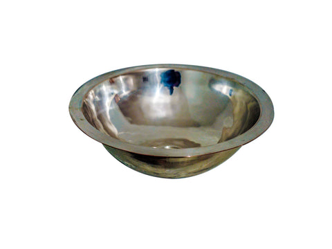 Alpaca Hammered Oval Sink Duna Lip
