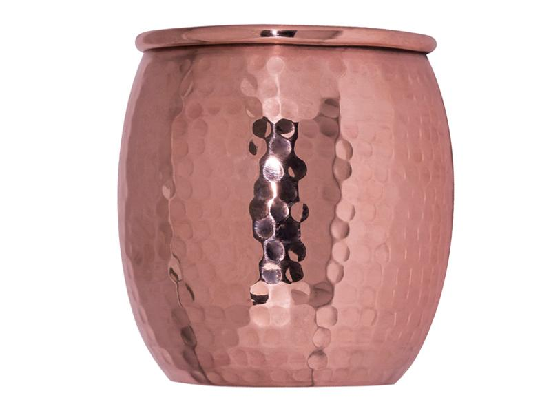 Copper Round Tumbler 6 pieces