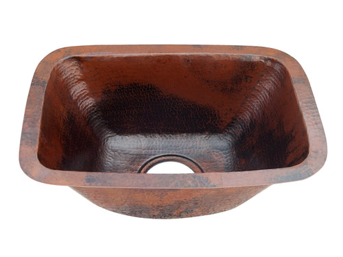 Copper Rectangle Bar Sink
