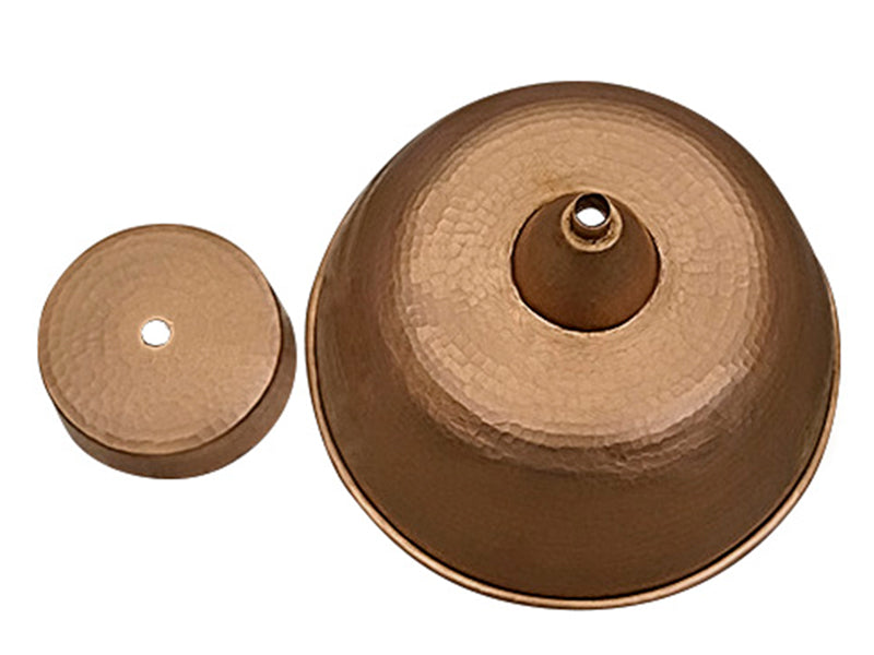 Copper Round Lamp