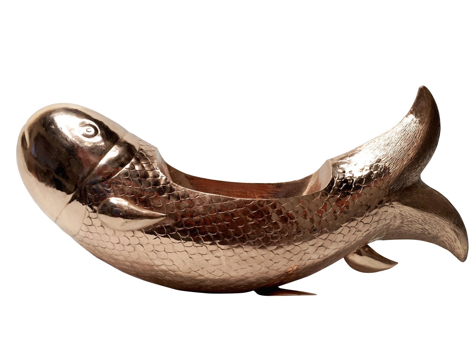 Copper Vessel Fish Koi