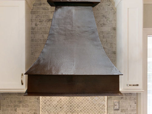 009 Copper Range Hood Wall Mount Alfil 36 X 18 X 42