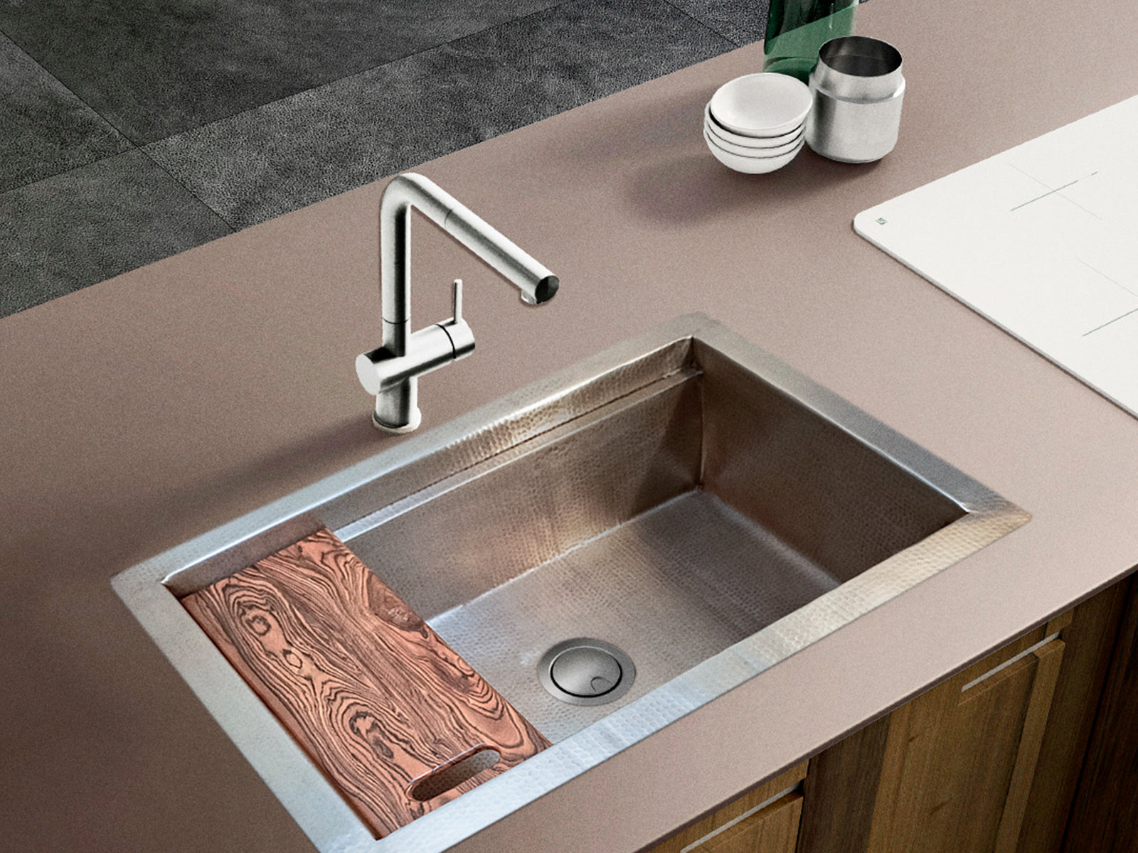 Alpaca Kitchen Sink for Griding