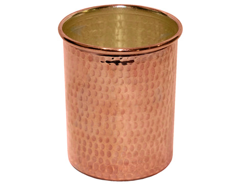 004 Copper Smooth Cup 6 pcs