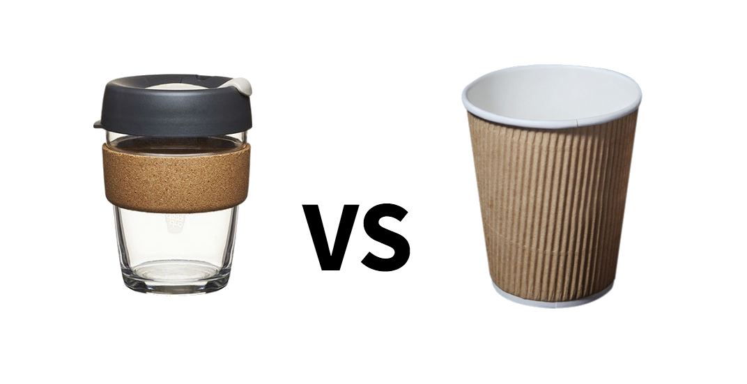 Cups: Single Use (Disposable) vs  Reusable - An Honest