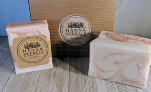 Hanna Herbals Fruity Fusion Bar Soaps - pack of 4