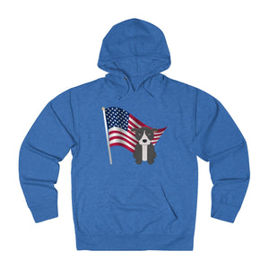 """All American Dog"" American Bully / Pitbull Hoodie Sweatshirt is available at Lotso Bully Breeds one stop pitbull shop.  Click here to view unique T shirts, apparel, accessories, bags, gifts, and more!"