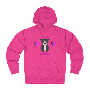 """Itty Bitty Pittie Committee"" American Bully / Pitbull Hoodie Sweatshirt"