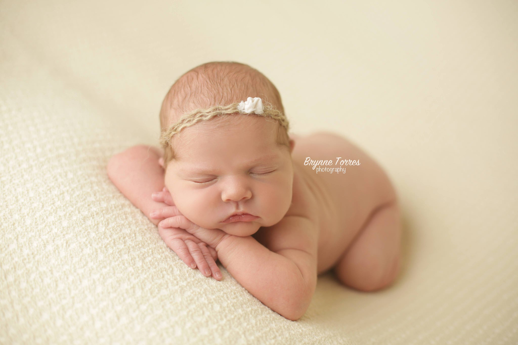 Jute & Silk Newborn Headband