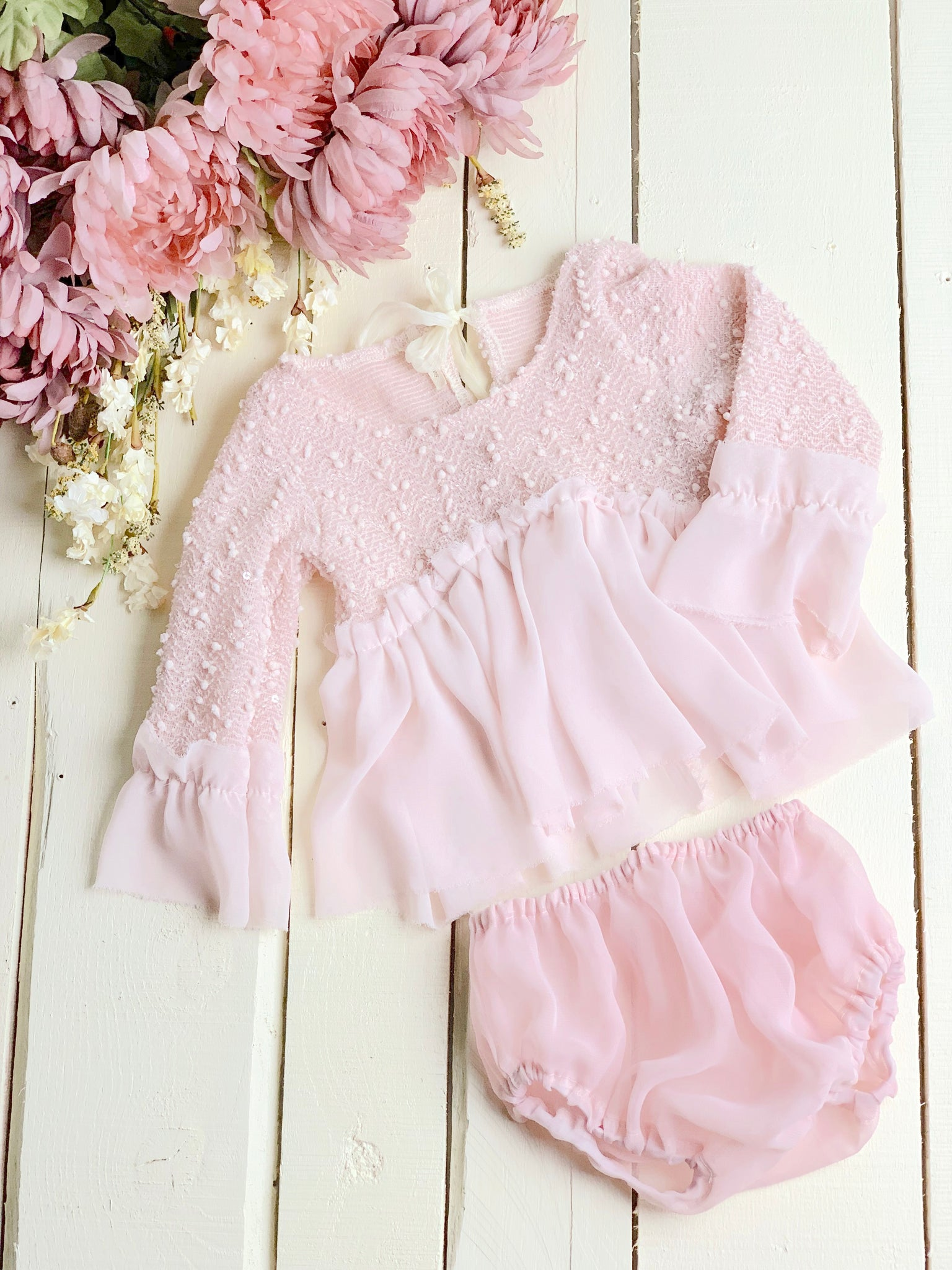 Pink Sequin Sitter Set ~ Sale