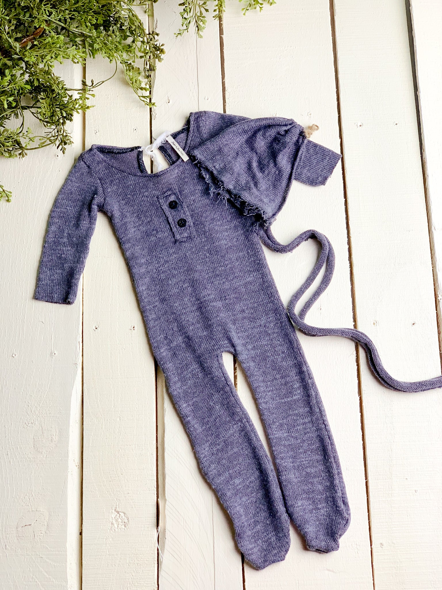 Charcoal Footed Jammies Set ~ Sale