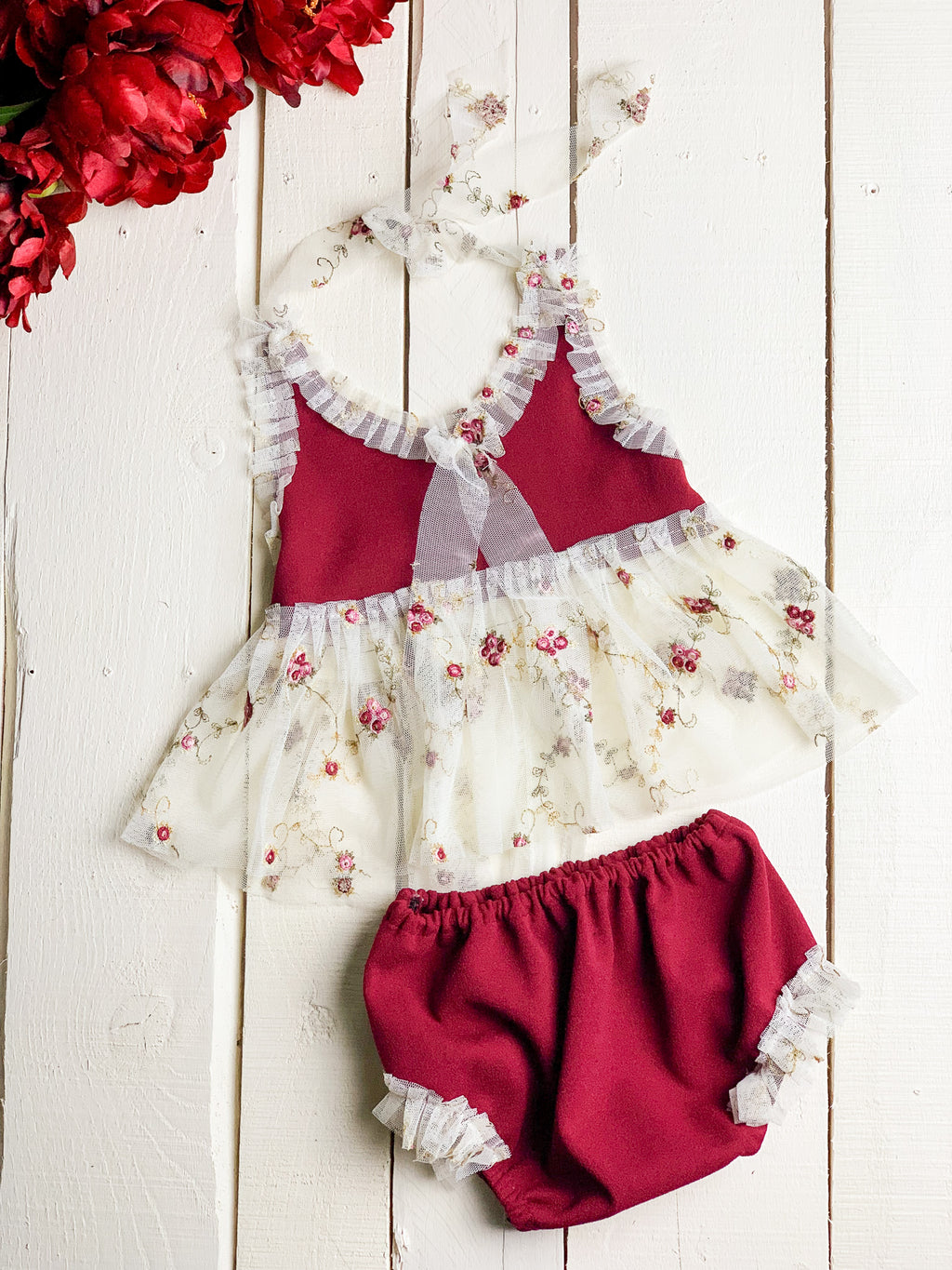 Cranberry Rose Set
