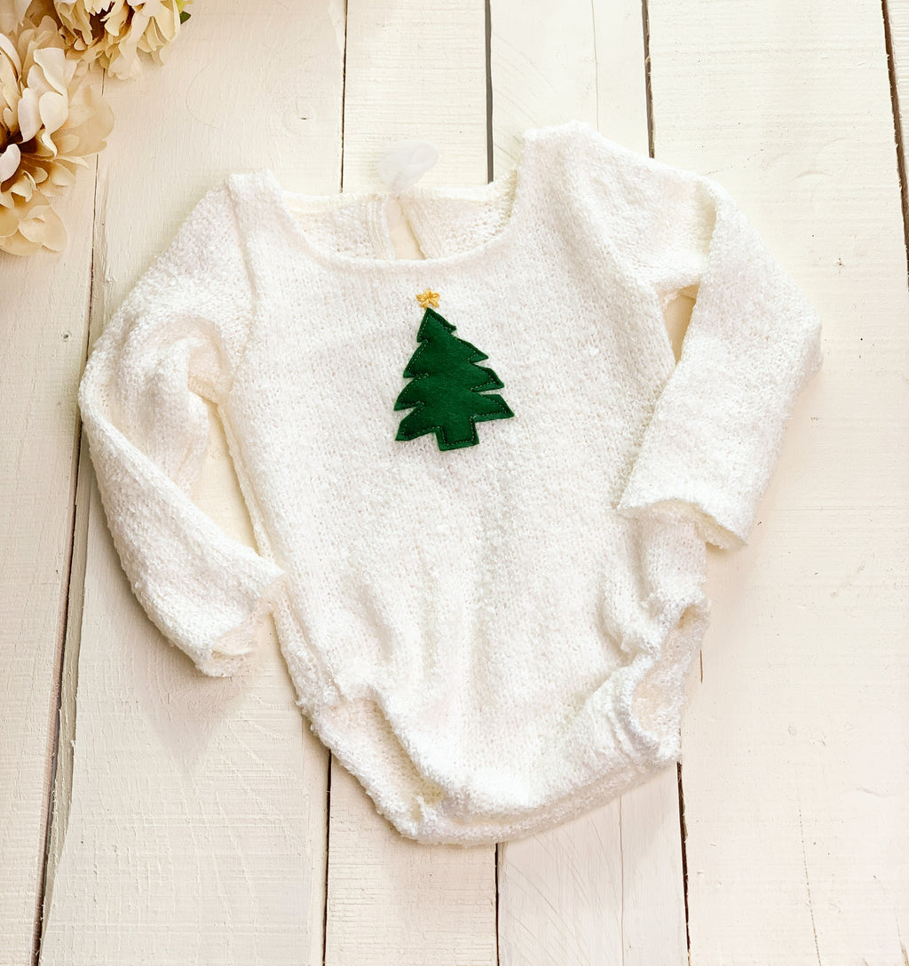 Frasier Tree Romper ~ Sale