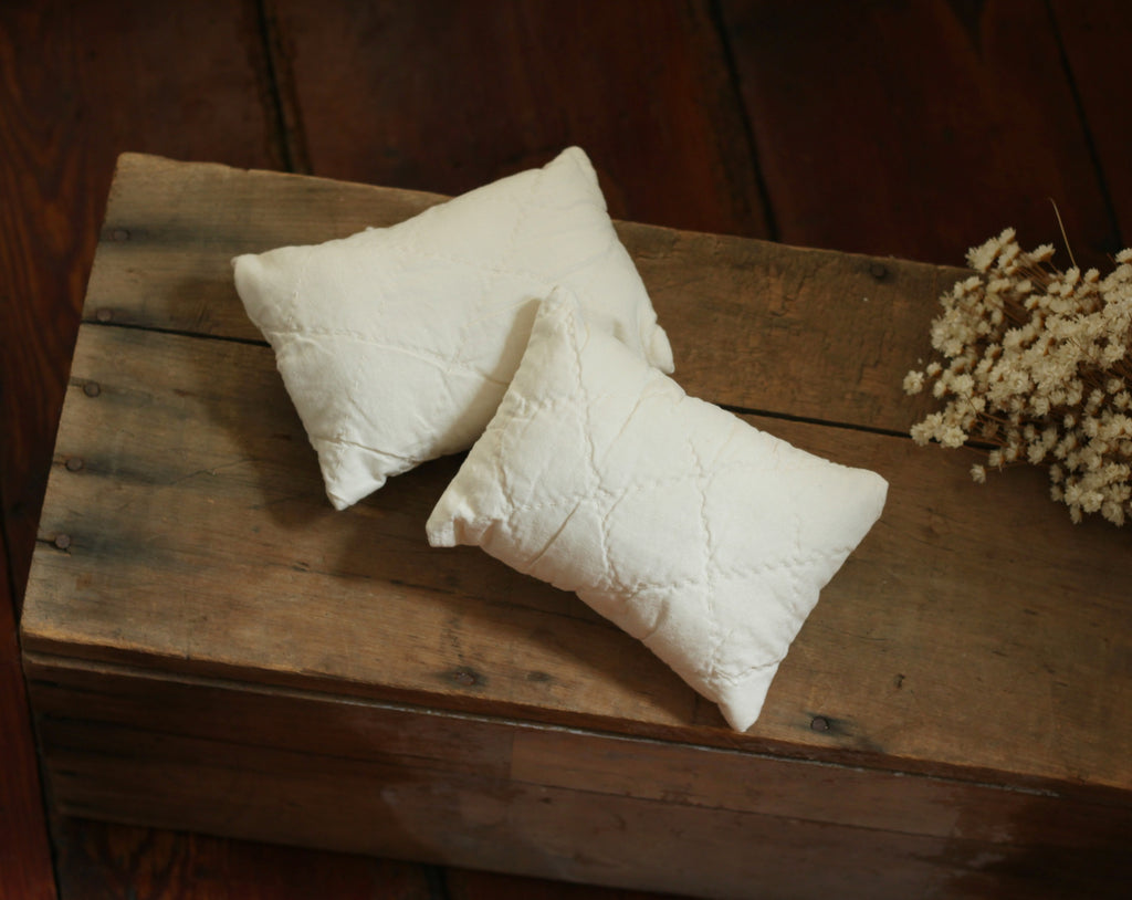 Quilted Newborn Pillow Prop