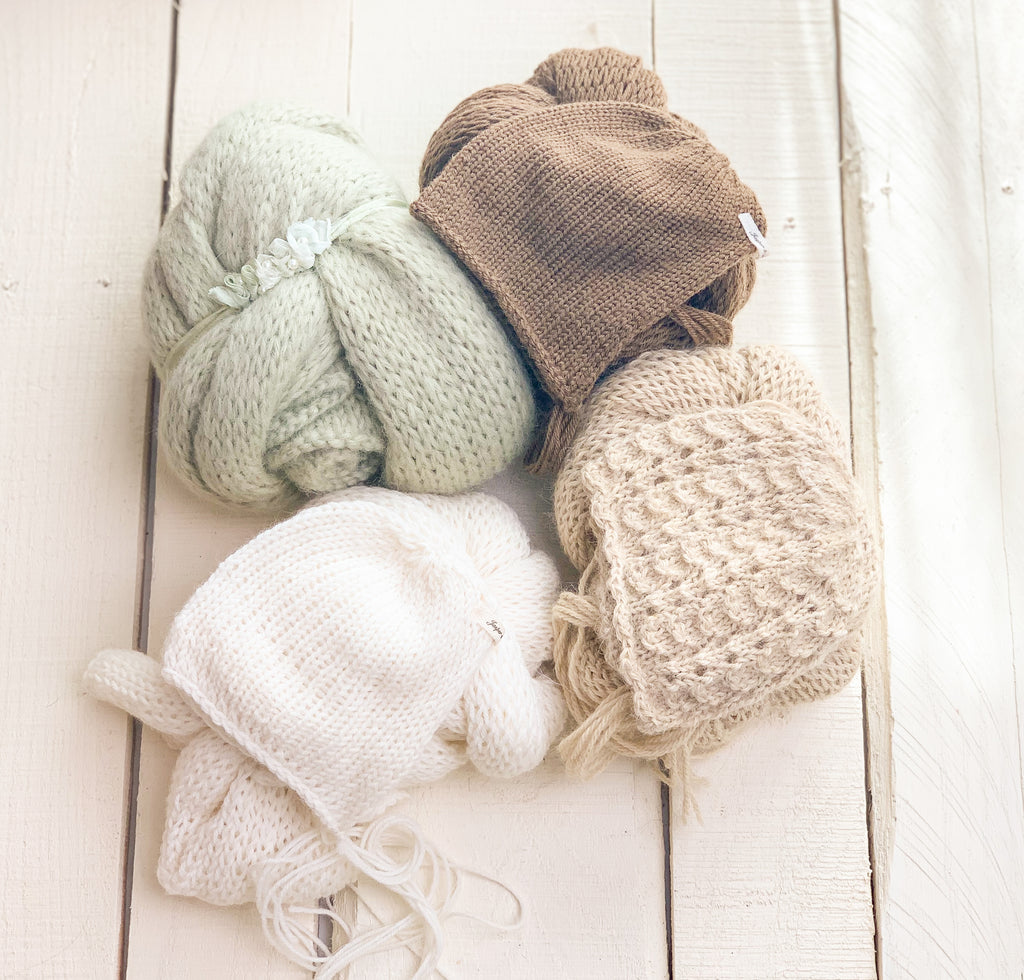Newborn Knit Sets ~ Sale
