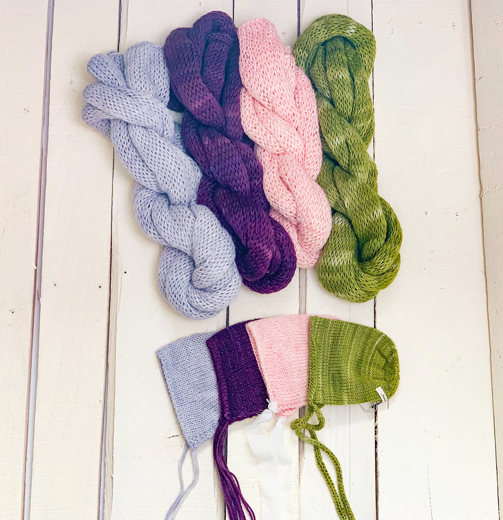Hand Dyed Knit Sets