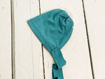 Teal Newborn Bonnet ~Sale