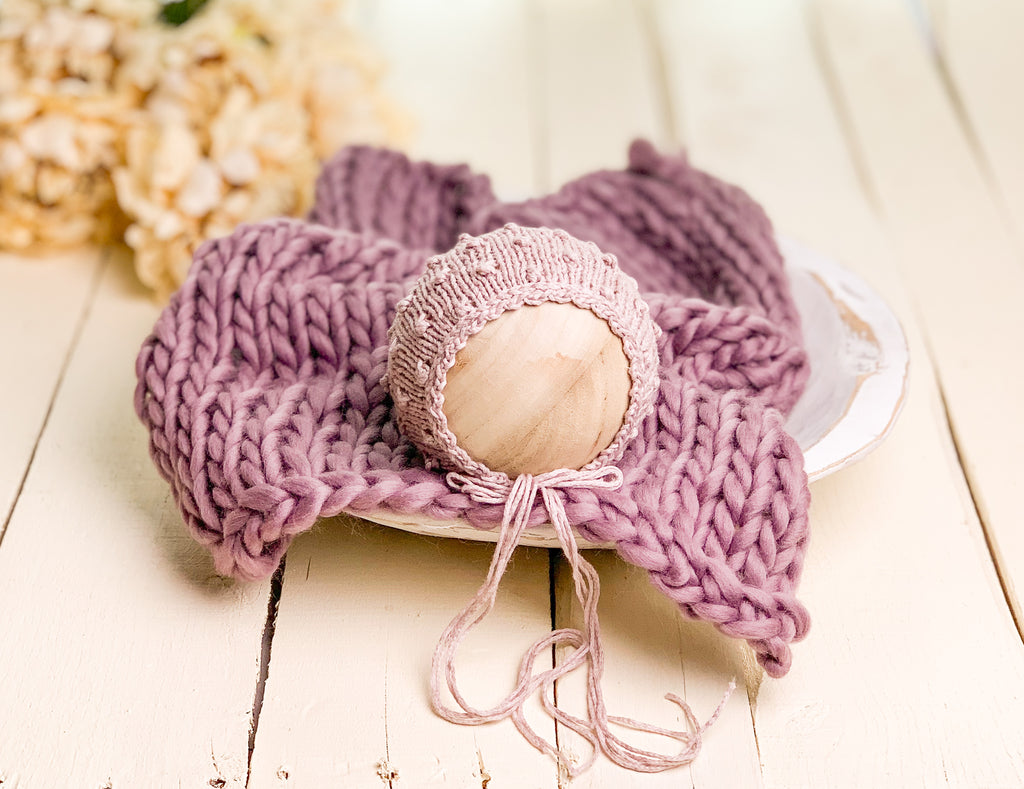 Heather Newborn Knit Set