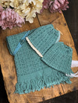 Teal Newborn Textured Set