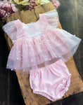 Pink Pearl Dress Set