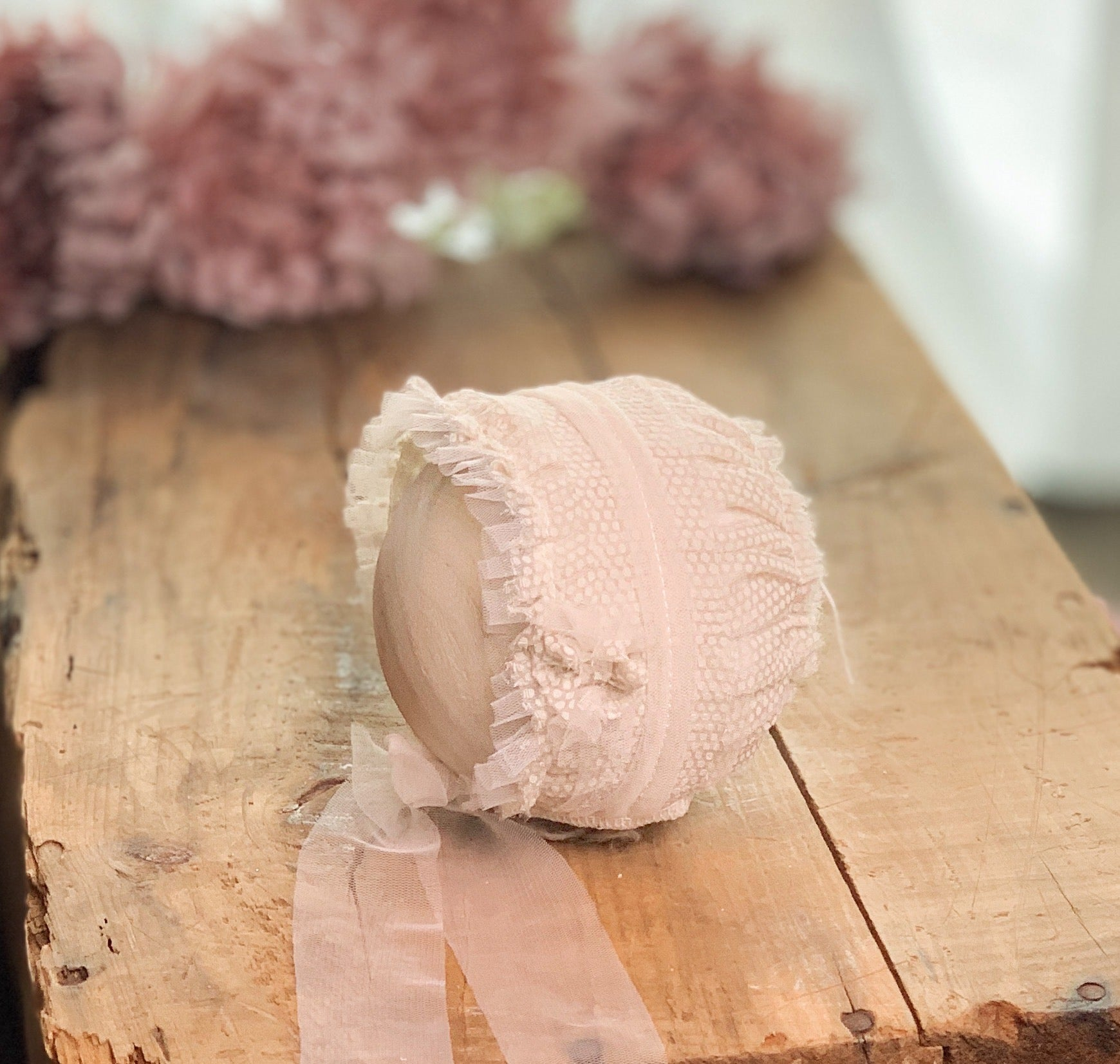 Dottie Newborn Bonnet ~ Sale