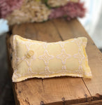Lemon Chiffon Yellow Pillow Set