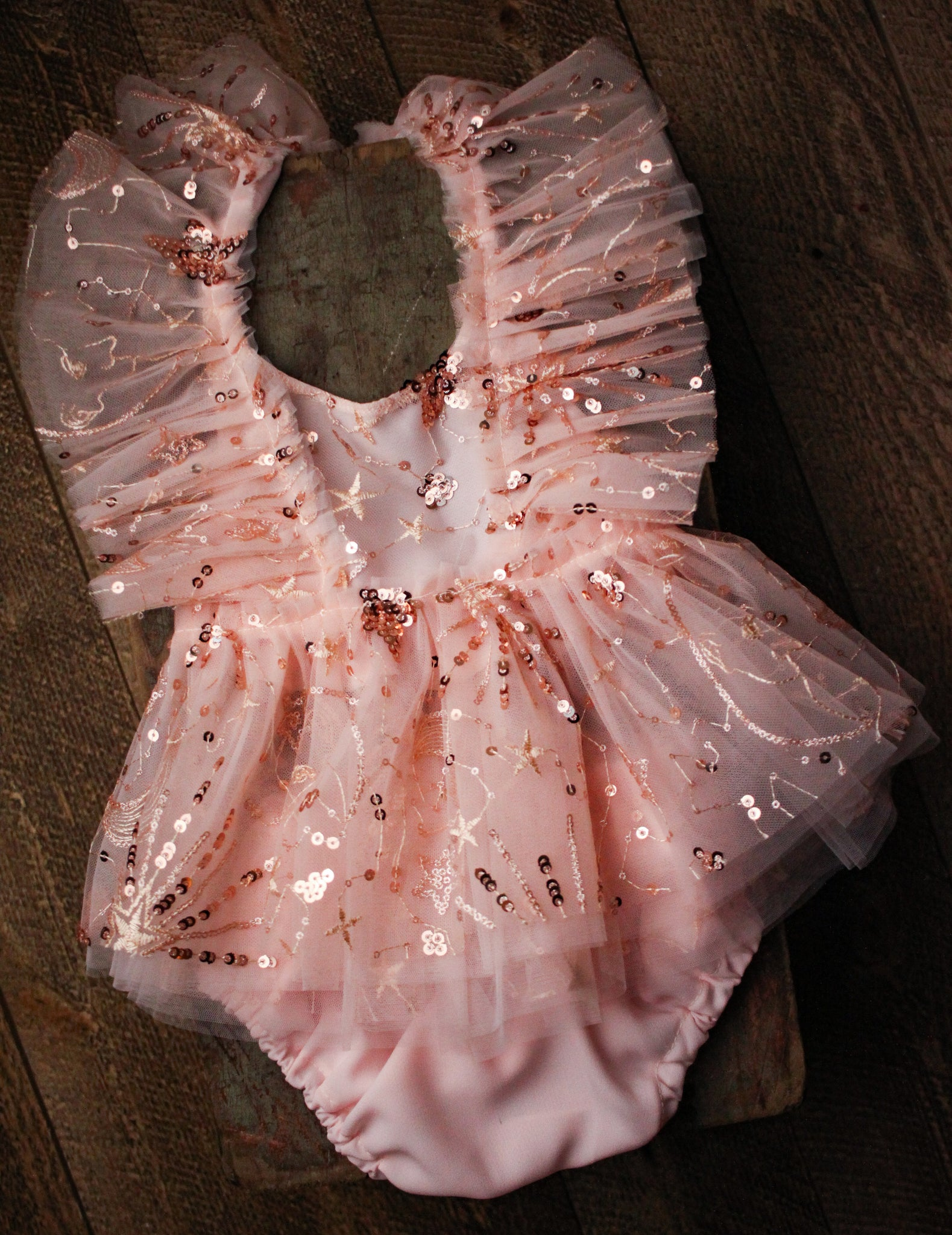 Blush Stars Dress Set