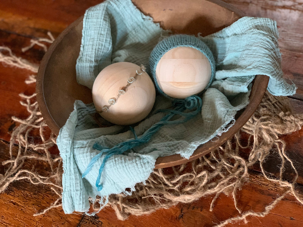 Light Teal Newborn Set