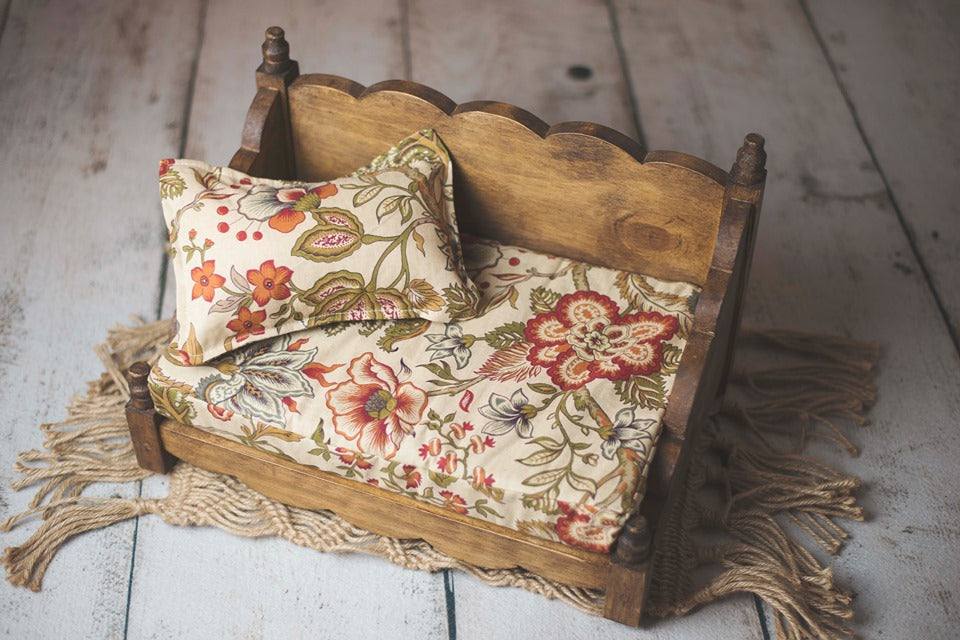 Mattress and Pillow Set ~ Fall Floral