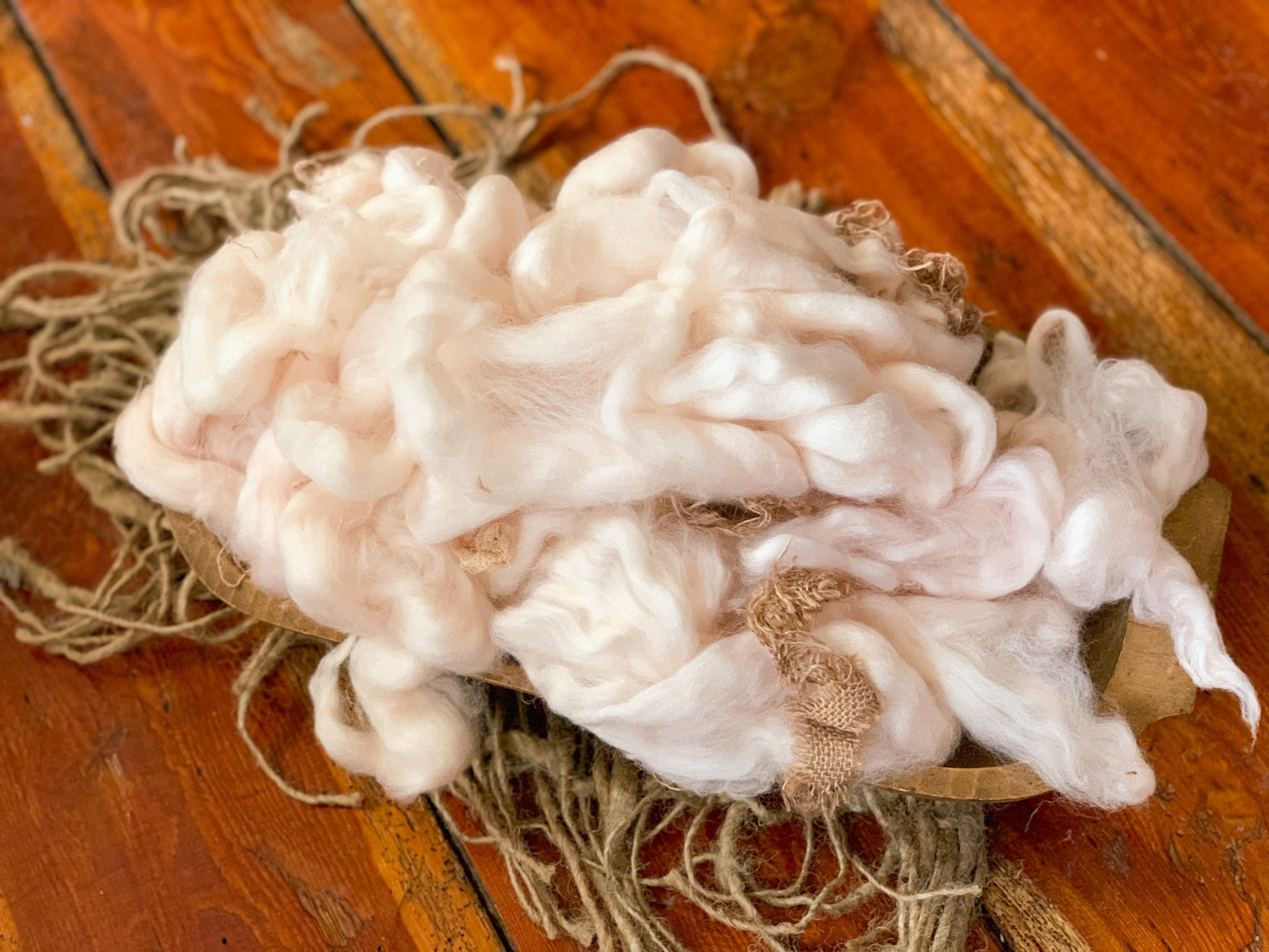 Peach Pie Nesting Fluff ~ Sale