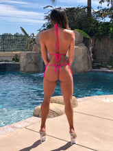 "Connie's ""VEGAS VIP Nitro Pink 💗 and 💜, Bikini Contest Winner"" Micro Thong Bikini Set"