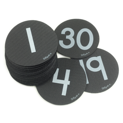 Numbers 1-30 Pack - Black