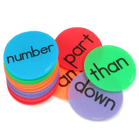 Sight Word Circle Pack (Fry List 4)