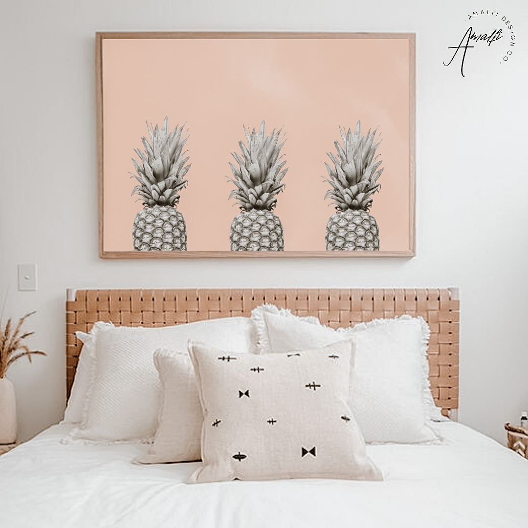 Buy PINEAPPLE SKY PRINT x 3 (HORIZONTAL)- INSTANT DOWNLOADfrom Amalfi Boutique