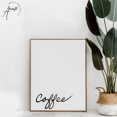 """COFFEE"" PRINT- INSTANT DOWNLOAD"