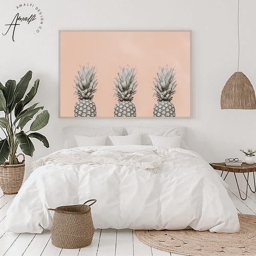 PINEAPPLE SKY PRINT x 3 (HORIZONTAL)- INSTANT DOWNLOAD