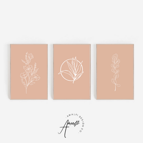 PALM SPEAR PRINT SET- INSTANT DOWNLOAD