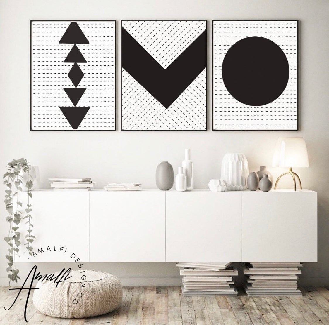 Buy BOSTON PRINT SET BLACK- INSTANT DOWNLOADfrom Amalfi Boutique