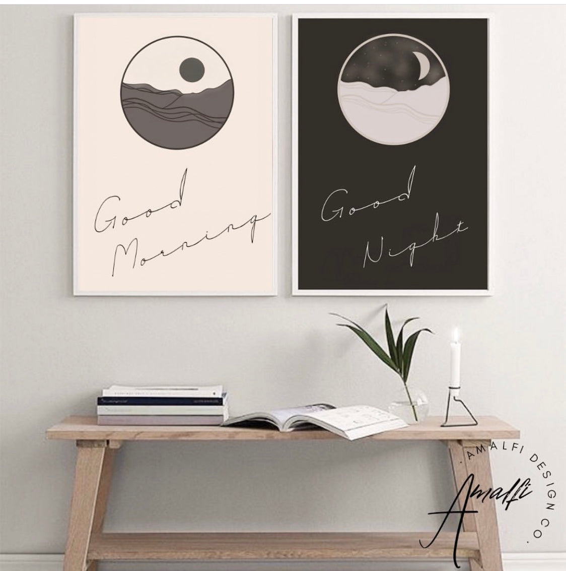 Buy MORNING AND NIGHT MOON SET- INSTANT DOWNLOADfrom Amalfi Boutique