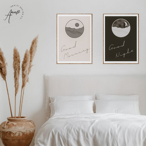 MORNING AND NIGHT MOON SET- INSTANT DOWNLOAD