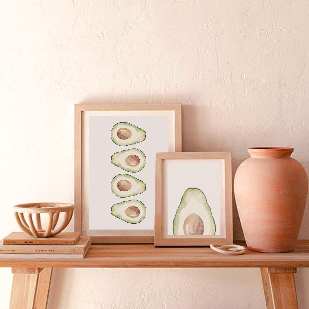 Buy WHITE AVOCADO PRINT- INSTANT DOWNLOADfrom Amalfi Boutique