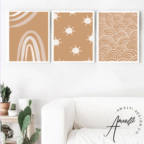 SUN RAYS PRINT SET- INSTANT DOWNLOAD
