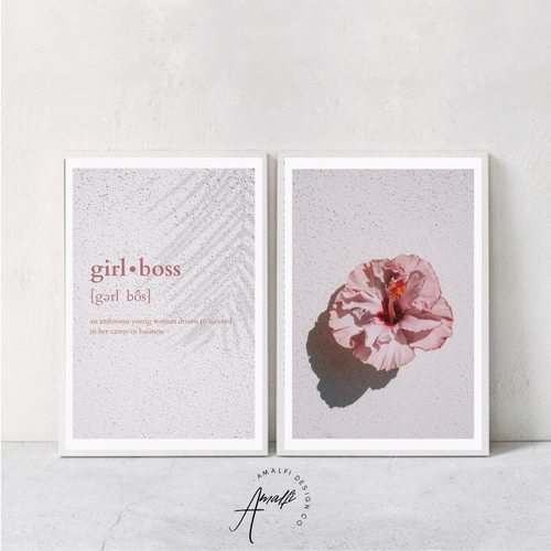GIRL BOSS PRINT SET- INSTANT DOWNLOAD